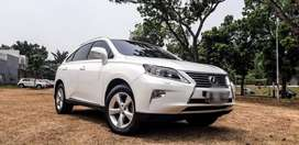 Lexus RX270 Automatic 2014 ATPM White Good Condition
