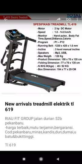 Promo treadmill termurah terlengkap  bergaransi cuma 5.5jt