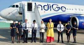 Male or Female Job candidates apply job in Indigo airlines Airport Job