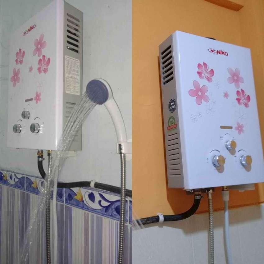 Alat Pemanas Air Water Heater Gas Niko Ready Stock