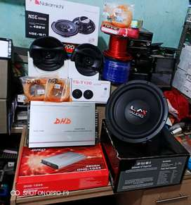 Plus Psang,BASS TOP,Subwofer LM+Power DHD+Speker Nakamichi+Tweeter+Box