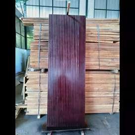 Pintu Solid / Flush Door - Kayu Meranti Durian Bayur
