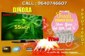 """Pataka offer festival Led TV Andoid 55""""@16999/- with free gift"""
