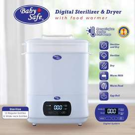 Baby Safe 3in1 Multi Electric Digital Sterilizer & Dryer Sterilizer