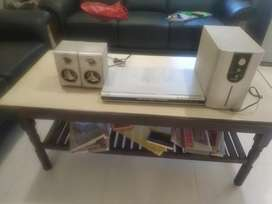 ONIDA DVD PLAYER WITH HOOFER & TWO SPEAKERS