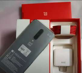 Oneplus 7pro with bill box all accessories warranty