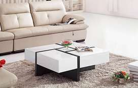 UV high gloss center table / coffee table with 4 drawers