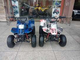 New Colors Collection 70cc Atv Quad 4 Wheels Bike Deliver In All Pak