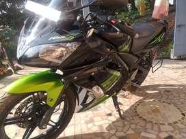 Brand new bike, Run 4100,Good milage, R15s model
