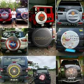 Cover/Sarung Ban Ford Ecosport/Rush/Terios/Taft Sendiri Promo Merdeka