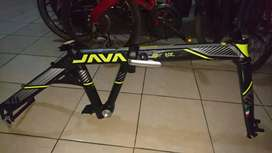 Frame sepeda lipat folding bike java alloy discbrake