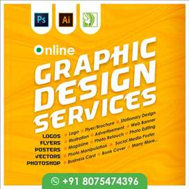 Freelance Graphic Design Services (8yrs Exp.)