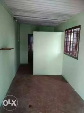 1 BHK for rent with sheet roofing and all and kitchen