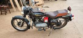 Diesel bullet with self in super condition with new battery