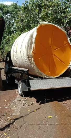 Tandon air 2000 liter Kebumen bahan plastik hdpe tiga lapis