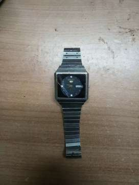 SEIKO 5 VINTAGE WATCH AUTOMATIC MOVEMENT WORKING CONDITION