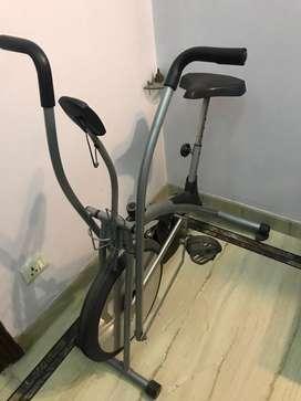 Exercise bike on sale