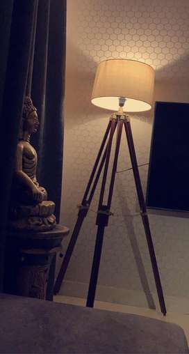 Sealed pack.. Brand New Tripod Lamp. Unopened..