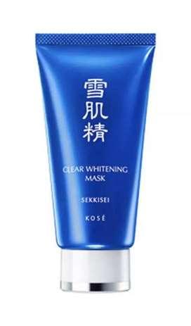 KOSE Sekkisei Clear Whitening Beauty Mask 10g - 100% New - Buy 1 Get 1