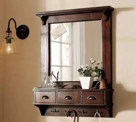Wall mounted Dressing mirror with led lights