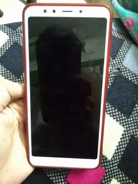 Mi redmi 5 3/32 with only mobile charger and cover