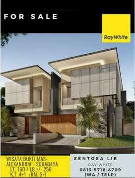 Dijual Rumah Wisata Bukit Mas Cluster Alexandria - New Modern Design