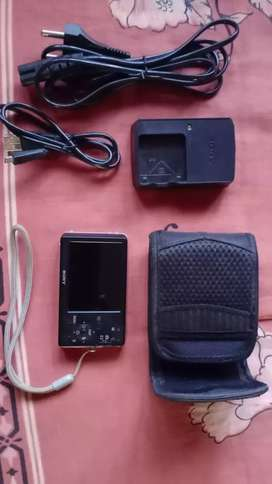 Sony Cyber Shot, 12.1MP With 4GB Memory Card And Camera Case