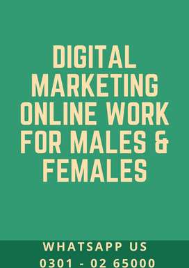 Daily & weekly payout – digital marketing job is offering for students