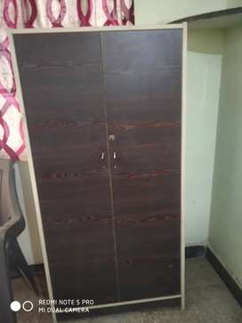 Wooden wardrobe for home and office