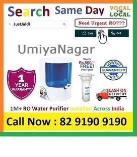UmiyaNagar Dolphin RO water Filter Water Purifier  Drink CLean Water.