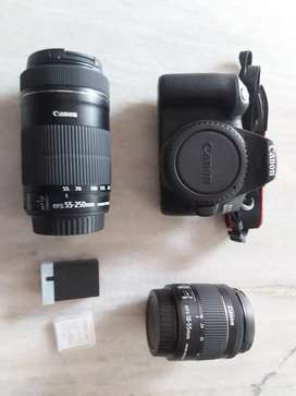 Canon 200 d mark ii for rent one day 750