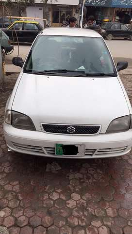 Suzuki cultus 2005 model petrol and cng both working with chill ac
