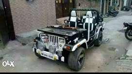 Jonga jeep ready in Rohtak