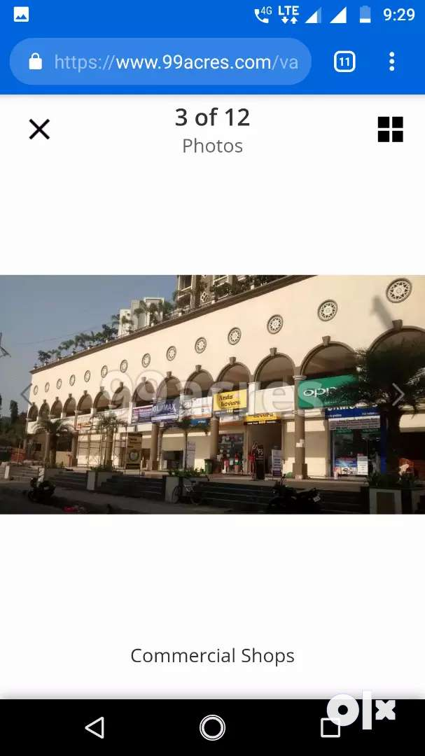 Fresh painted  shop available for rent kharghar 0