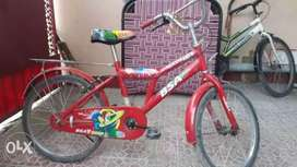BSA  cycle red colour