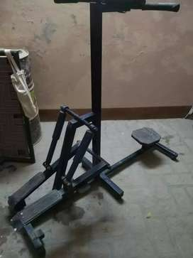 Stepper + twister machine for gym and domestic use