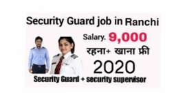 Security Guard male and female in Ranchi