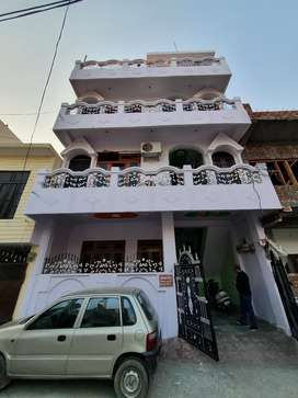 2 BHK semi- furnished house on rent