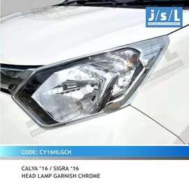 Garnis lampu chrome calya / sigra