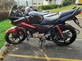 Well maintained and Regularly Serviced 125 cc bike