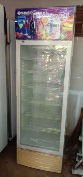 Aneka showcase minuman bekas indomaret 1 pintu 2 pintu 3 pintu garansi