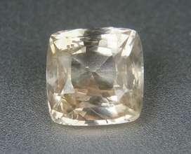 Rare Peach sapphire safir 1.82 ct unheated for GD ring