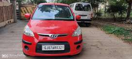 Red i10 petrol + cng
