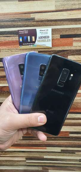 Samsung S9+ ( Brand new ) with All acessories Pta Approved