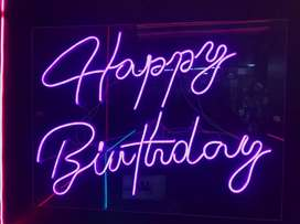 Happy Birth day Neon sign