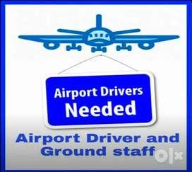 Hiring in airport ground staff job