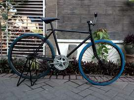 Fixie dg basis Rangka Balap
