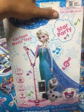 Mainan anak mikrophon anak anak
