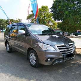 Toyota innova G luxury metic diesel 2014