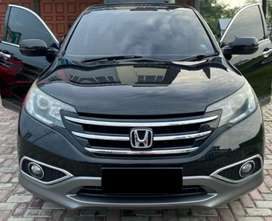 Jual Honda CRV 2,4cc type lengkap 2013 mulus/super